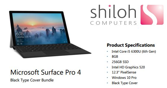 Surface pro 4 offer